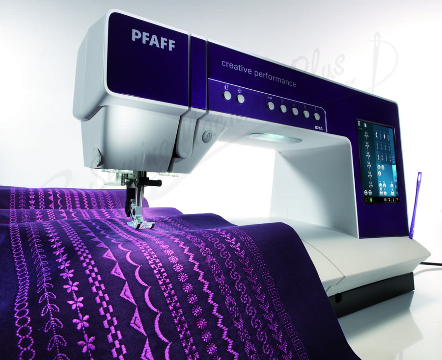 pfaff sewing and embroidery machine