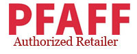 Pfaff sewing machines authorized dealer