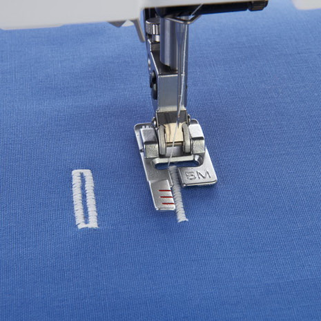 sewing machine buttonhole foot