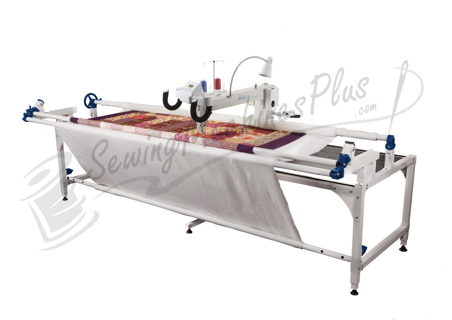 26 upgraded long arm quilting machine floor model w px frame for Tinning table model