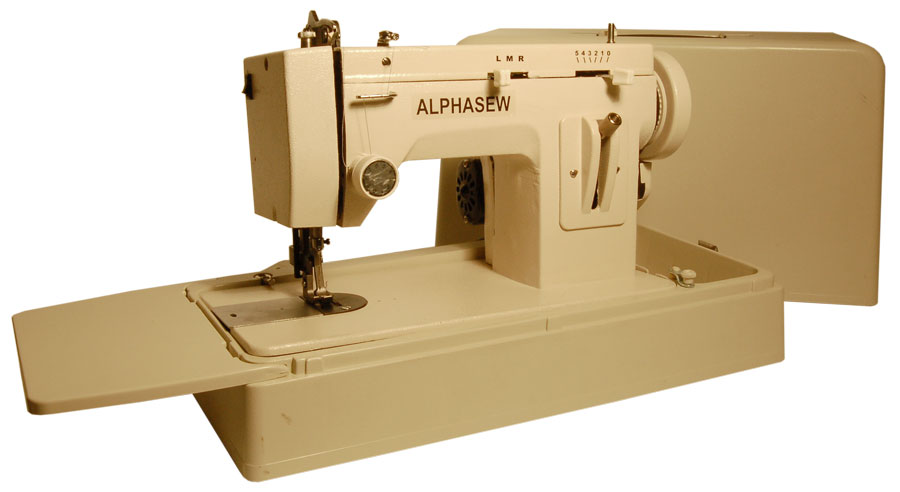 Alphasew Pw200zz Portable Zigzag Walking Foot Machine