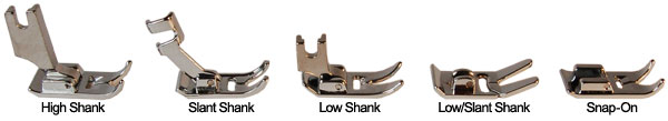 Click a presser foot for best selection!