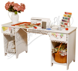 Click here for Arrow's Olivia Sewing Cabinet in White Model 1001