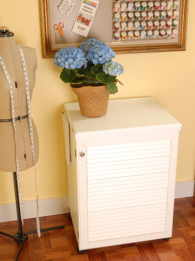 white sewing cabinet 2