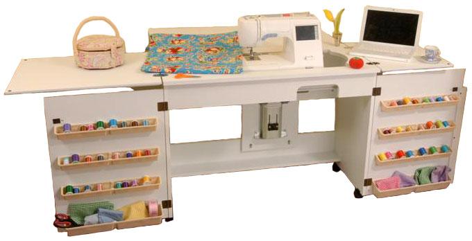 Arrow 98701 Bertha Sewing Cabinet White Finish EBay