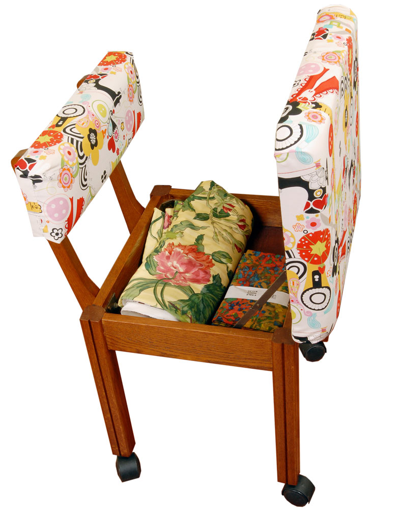 """Arrow Alexander Henry Fabric Covered CHAIR 18x16"""" Model"""