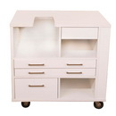 9301 Arrow Ava Embroidery Cabinet - White