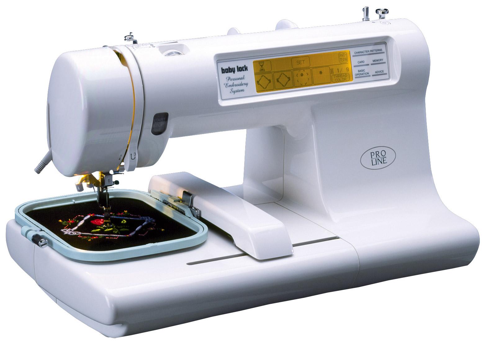 espree babylock embroidery machine