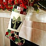 Monogrammed Christmas Stocking