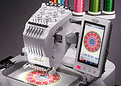 Baby Lock Endurance 6 Needle Embroidery Machine