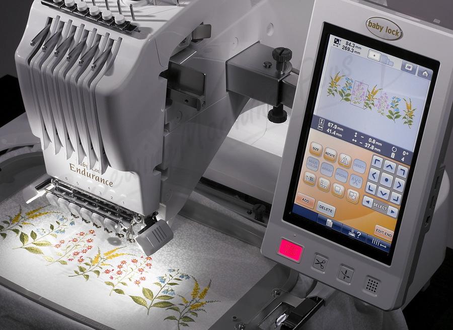 babylock 6 needle embroidery machine price