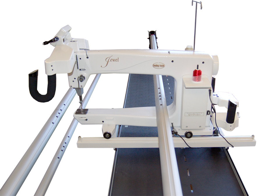 Jewel by BabyLock 18in Long Arm Quilting Machine w/Grace Pinnacle Frame