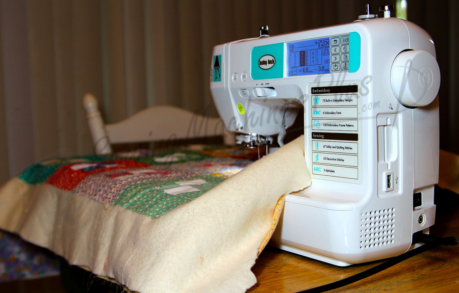 baby lock sewing and embroidery machine