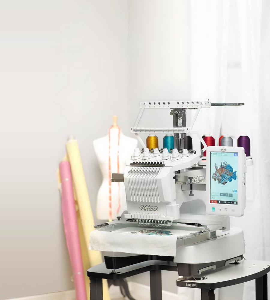babylock 10 needle embroidery machine