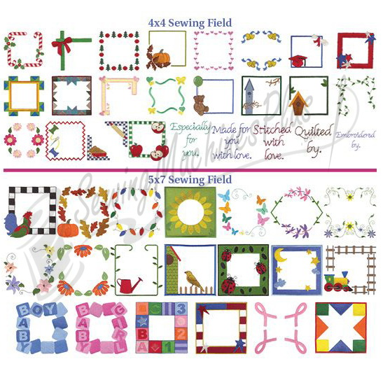 Dakota Collectibles Quilt Labels Embroidery Designs