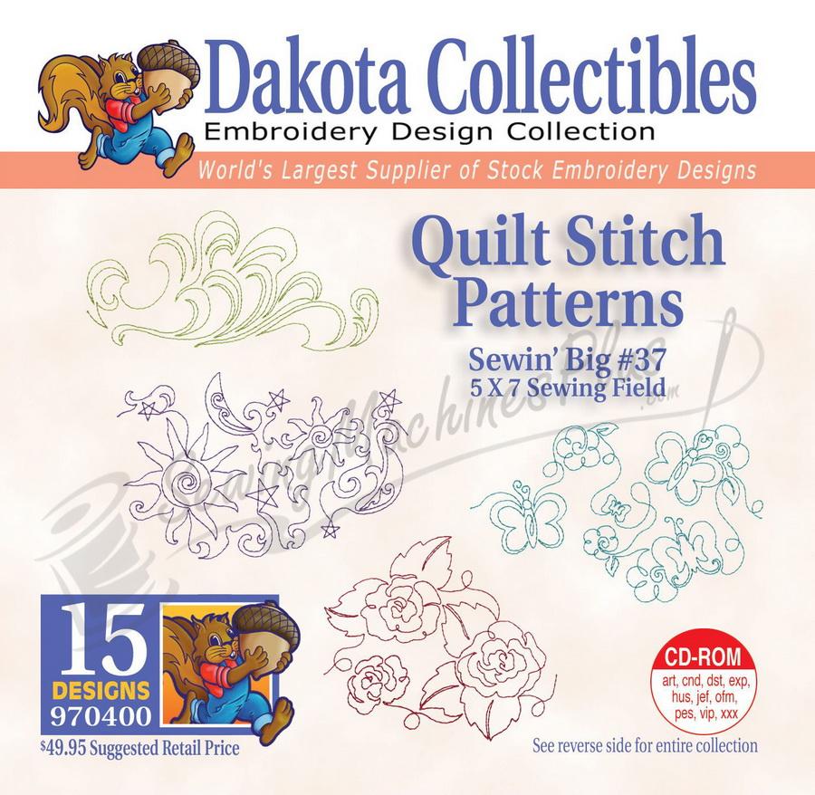 Dakota Collectibles Quilt Stitch Patterns Embroidery Designs - 970400 eBay