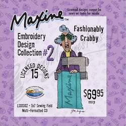 Dakota Collectibles Maxine Embroidery Design Collection #2 LS01302