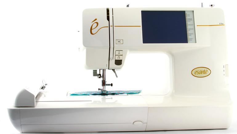 esante embroidery machine