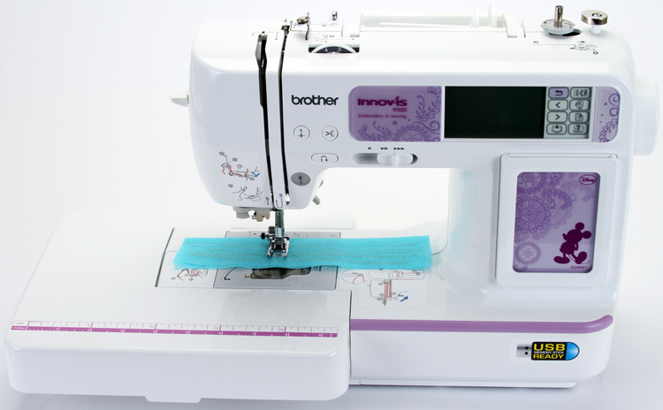 Brother U0026quot;Disneyu0026quot; 950D Sewing Machine U0026 Embroidery Unit Package + Extras!!!! | EBay