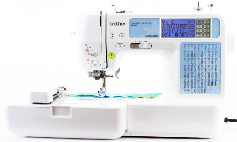 se 350 sewing and embroidery machine
