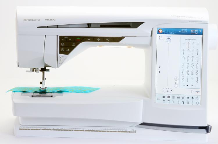 Husqvarna Viking Designer Diamond Sewing Machine Amp
