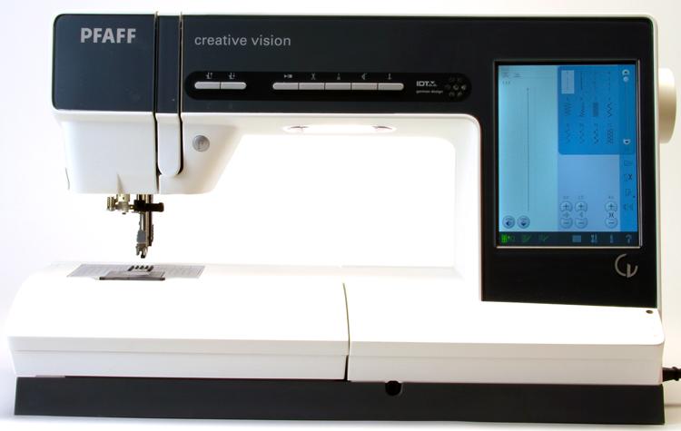pfaff creative vision sewing machine