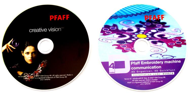 Pfaff creative vision sewing machine amp embroidery