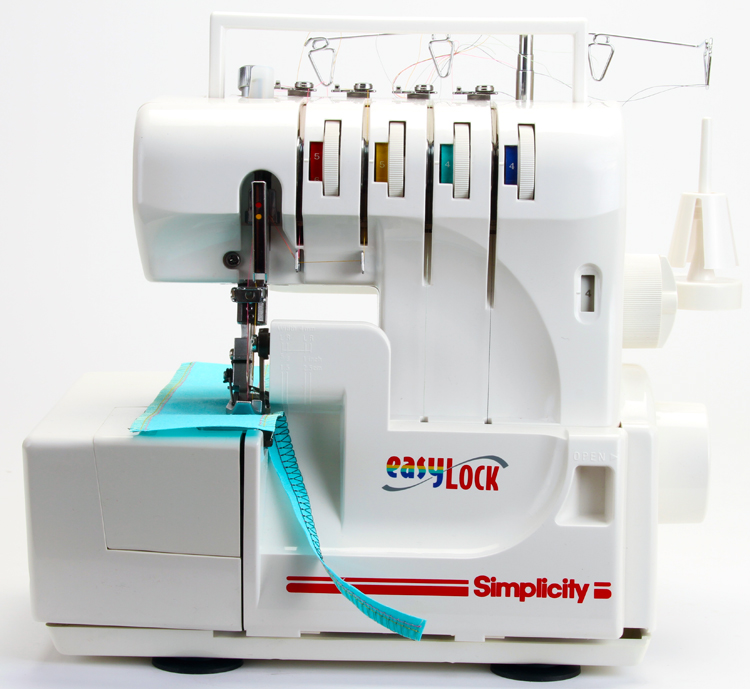 Simplicity Easy Lock Sl370 Serger Sewing Machine In