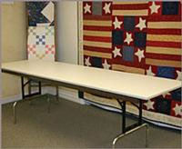 Handi Quilter Adjustable Table.