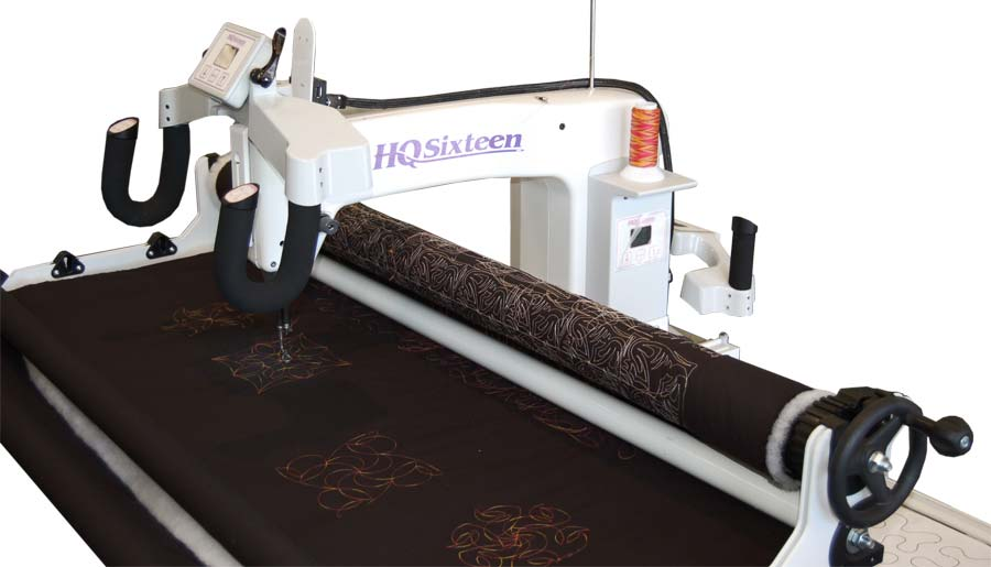 Hq Sixteen Long Arm Quilting Machine W Studio Frame