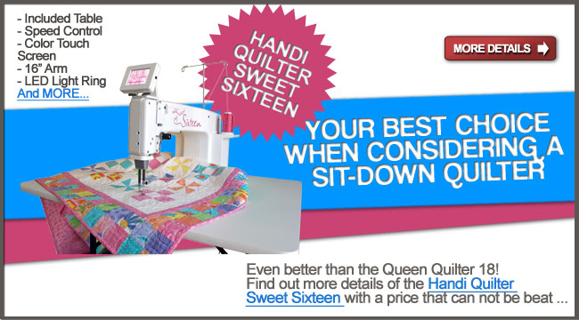 Queen Quilter 18 Machine With Sit Down Table Qqsd Check