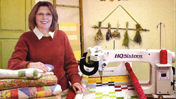Handi Quilter Founder Laurel Barrus.