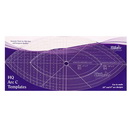 "Handi Quilter Arc C 10"", 6""  Ruler - HQ00616"