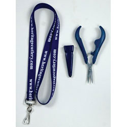 Heritage Cutlery Spring Loaded Embroidery Snip with Lanyard