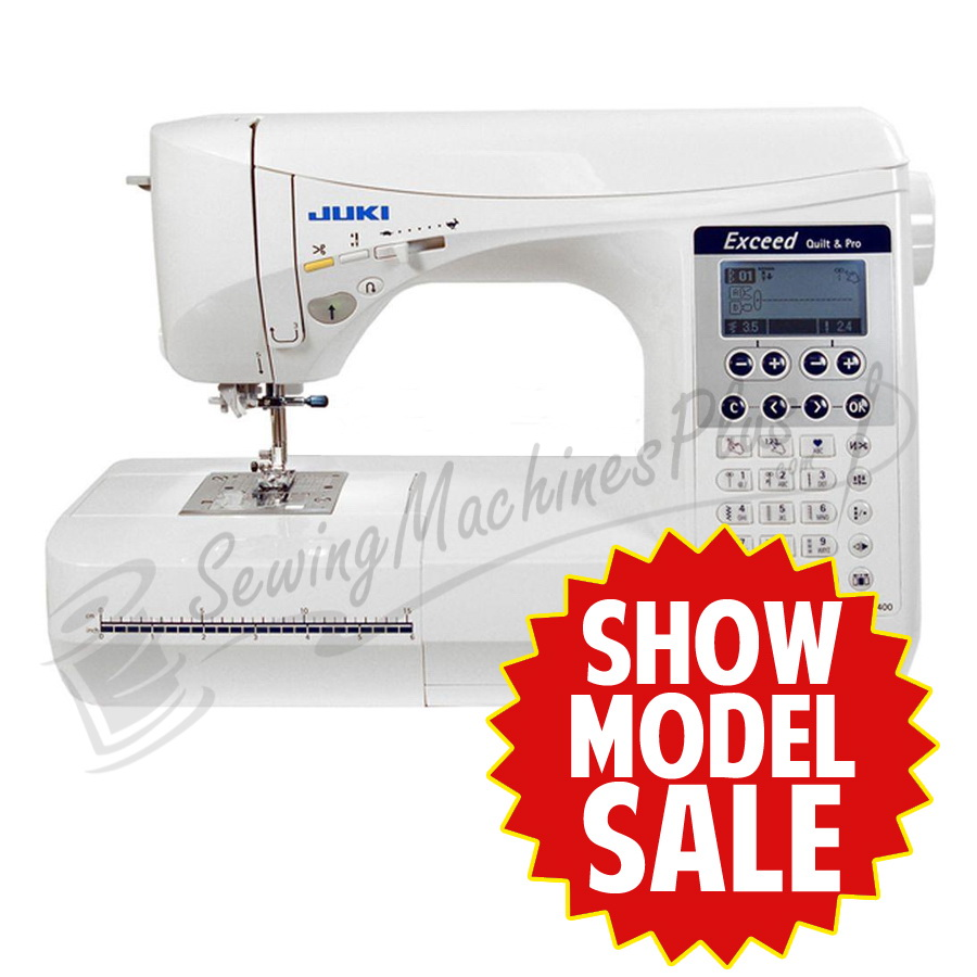 Juki Hzl F400 Show Model Exceed Series Computer Sewing