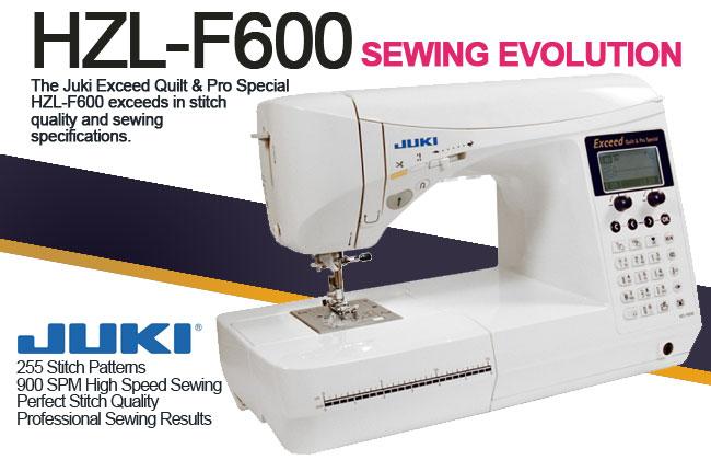 Juki Exceed HZL-F600