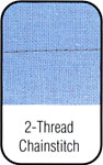 2 Thread Chain Stitch.