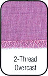 2 Thread Overcast Stitch.