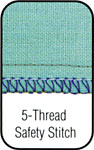 5 Thread Safety Stitch.