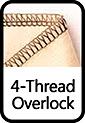 4-Thread Overlock