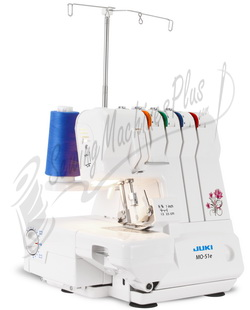 Juki MO-51E, 2-Needle, 3/4 Thread Overlock
