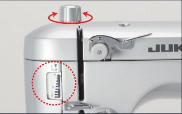 Presser Foot Pressure Adjustment