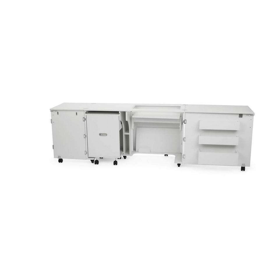 Click for Kangaroo Kabinets Aussie Studio WHITE Sewing Cabinets with Air Lift