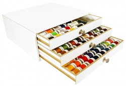 Madeira Aerofil Thread Treasure Chest 194 Spools (white)