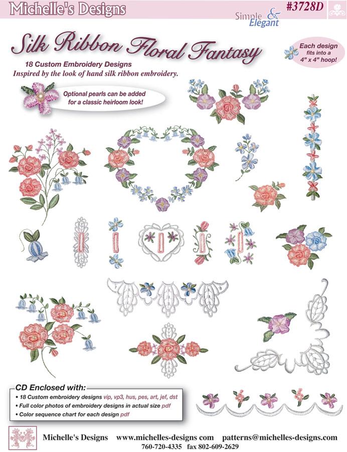 Silk Ribbon Embroidery - Pretty Impressive Stuff: An Affair with