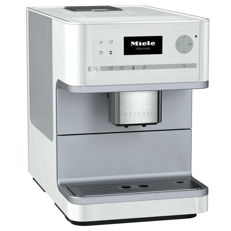 miele cm 6110 white coffee system. Black Bedroom Furniture Sets. Home Design Ideas