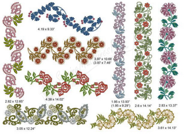 embroidery designs style interior ideas