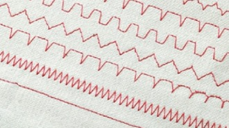 32 Utility and Decorative Stitches