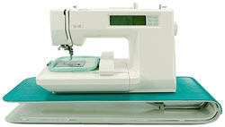 embroidery machine riser