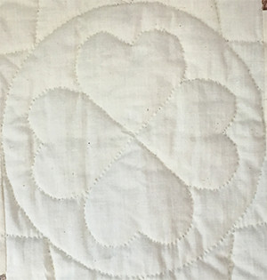 Quilting Stencil Example